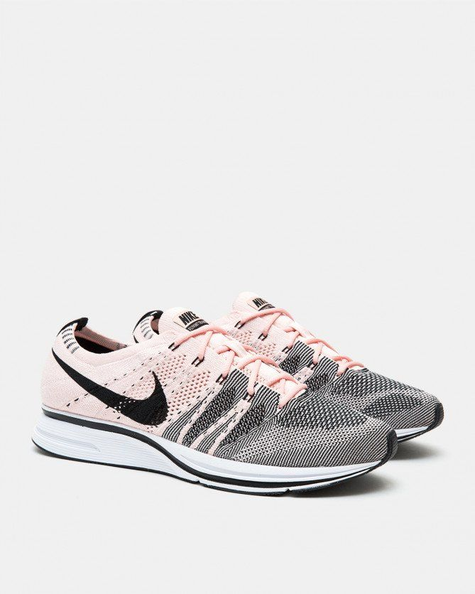 newest 20e6c 7ca39 Nike - Flyknit Trainer (Sunset Tint   Black   White) Back