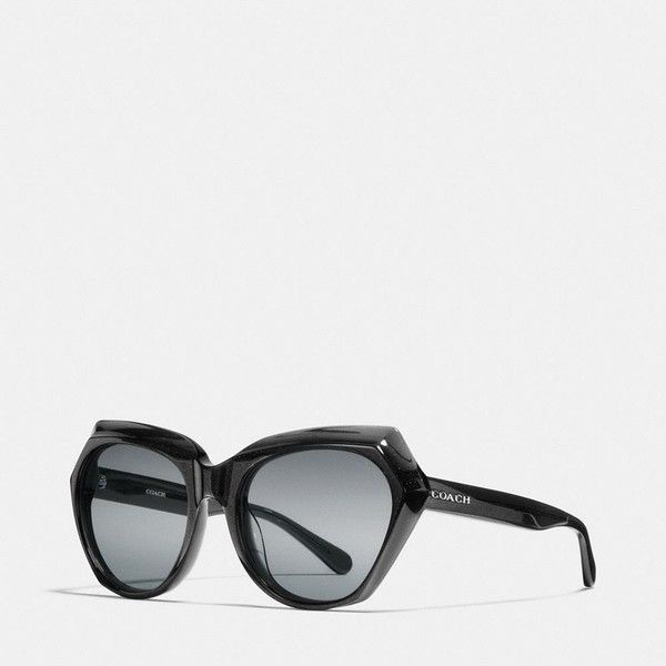 c17df8fdf0 Coach Oasis Cat Eye Sunglasses ( 150) ❤ liked on Polyvore featuring  accessories