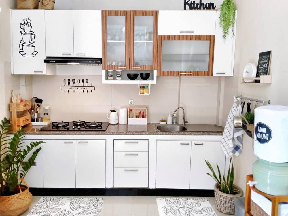 15 Model Kitchen Set Minimalis Dapur Kecil Sederhana Namun