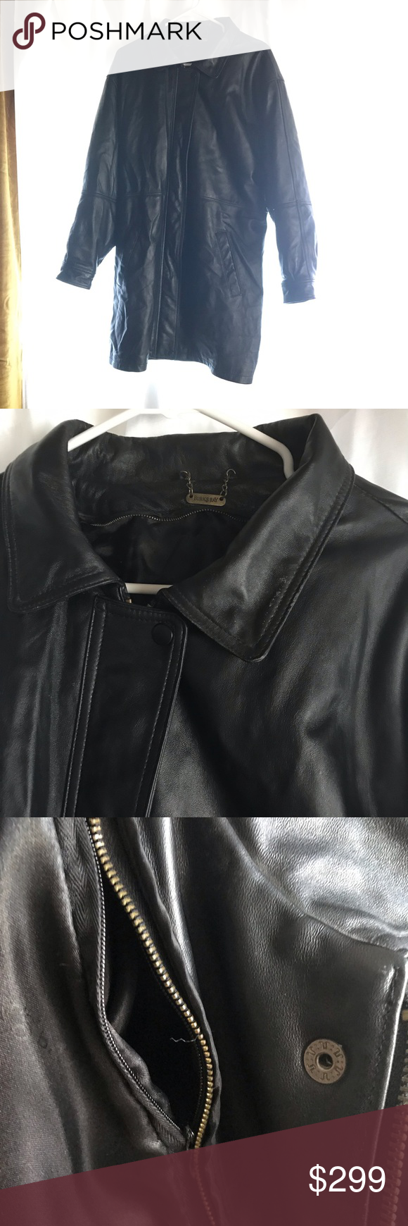 Matrix Genuine Leather Long Jacket Concealed Carry Long