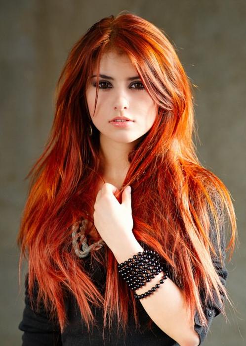 henna hårfarve rød