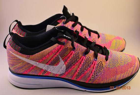 "123cfc4578760 Nike Flyknit Trainer ""Multi-Color"" – Summer 2013 Sample"
