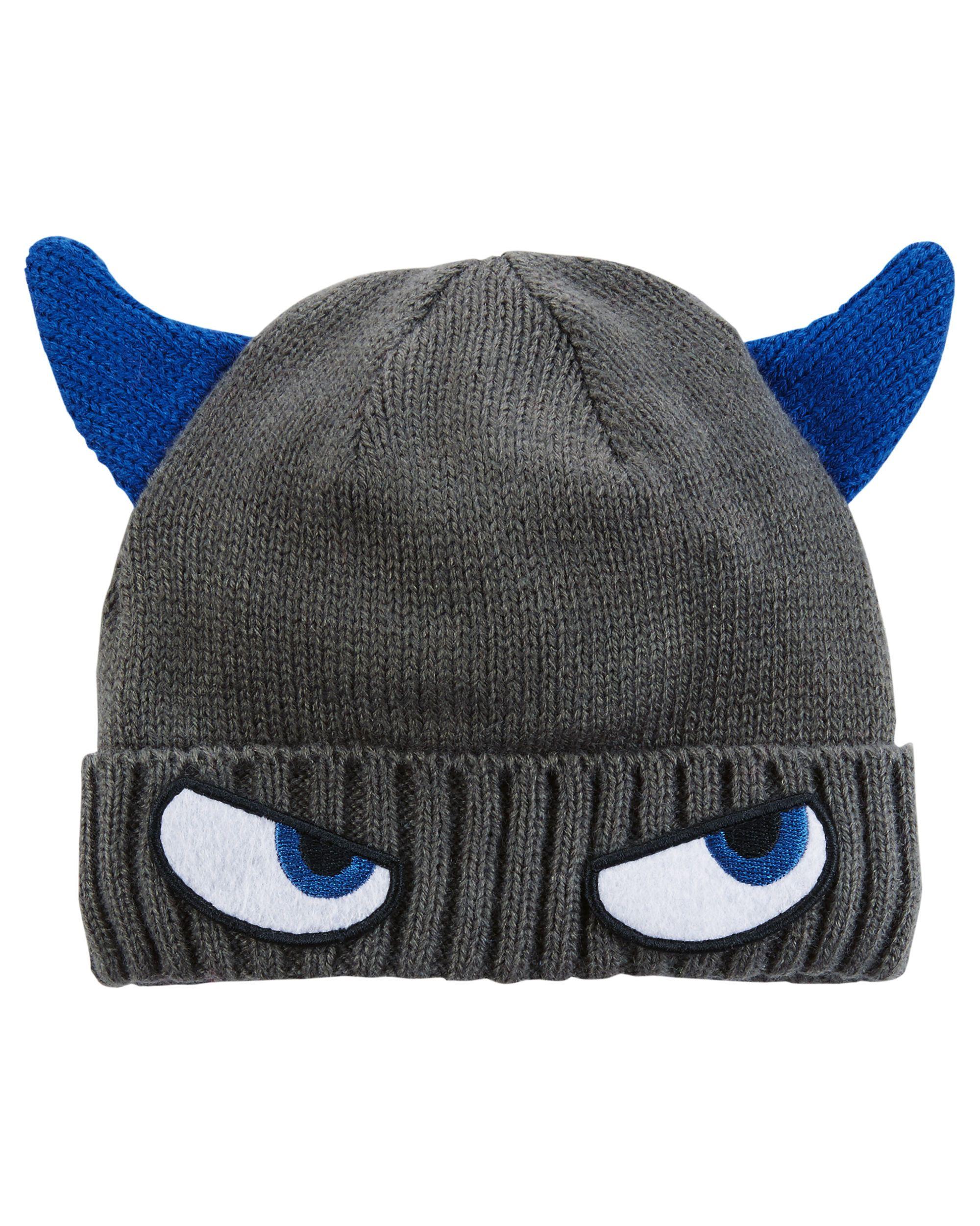 ba4974342edb2 Knit Character Hat | Kids ❤ | Hats, Toddler boys, Carter kids