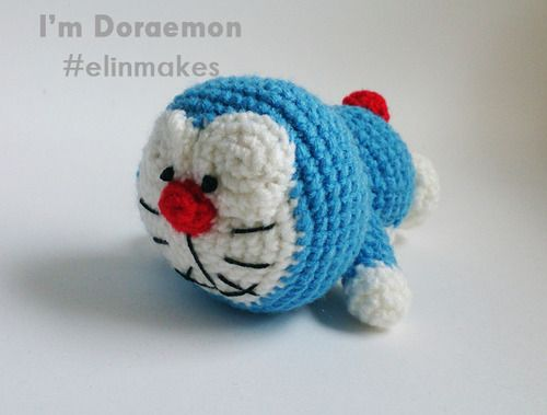 Amigurumi Doraemon Free Pattern : Elin makes handmade toys amigurumi malaysia u2014 free amigurumi