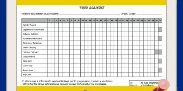 Free Homeschool Attendance Record printable from wwwParadisePraises - employee attendance sheet template free