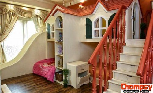 Awesome Kids Bedrooms playhouse room