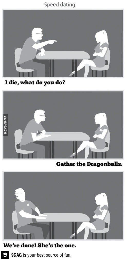 Geek speed dating.