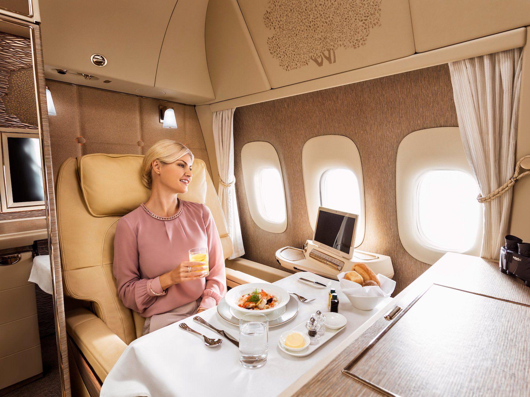 Emirates New Mercedes Benz First Class Luxury Suites Photos