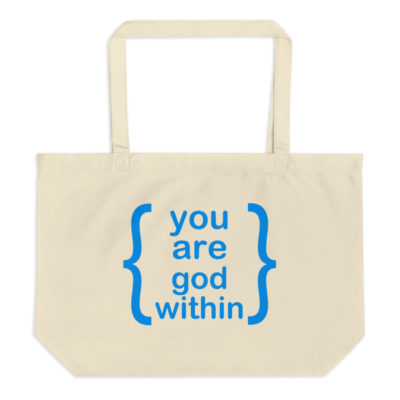 You Are God Within Spiritual Tote Bag | Lightworker Lifestyle#bag #god #lifestyle #lightworker #spiritual #tote