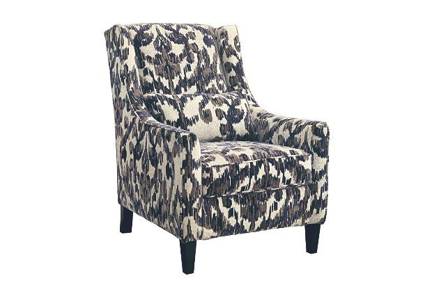 ashley floral signature chairs contemporary accent chair style honnally furniture com dp amazon design