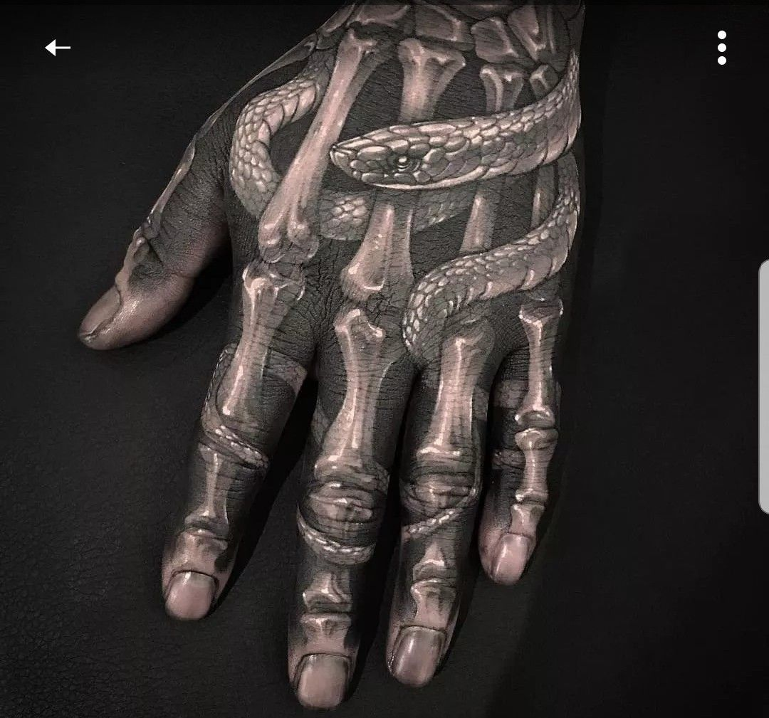 Pin By Carmen Scheepers On Ink Ed Hand Tattoos Skeleton Hand Tattoo Cool Tattoos For Guys