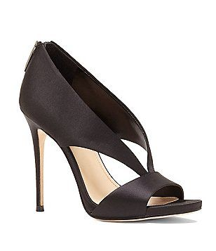Vince Camuto Imagine Vince Camuto Deluxe Dailey Satin Back Zip Dress Pumps IKYP1