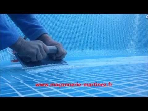 Realisation De Joints Patte De Verre Avec Starlike Epoxy Maconnerie Martinez Epoxy Travaux Renovation Verre