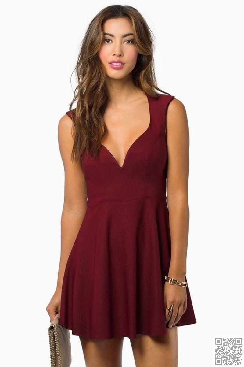 3d6cc78f9e39  Flirty Skater  Dress - 23 Stunning  Winter Formal  Dresses ... → Teen…
