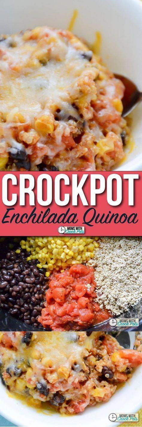 Photo of Crockpot Enchilada Quinoa Recipe