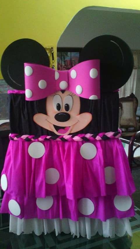 Caja de regalos minnie mouse | minnie mouse y algo de Mickey ...