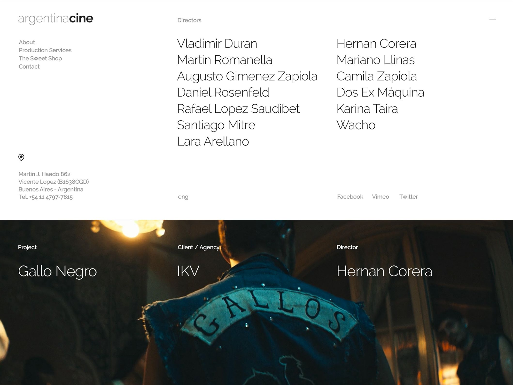 Argentina Cine - Digital Branding