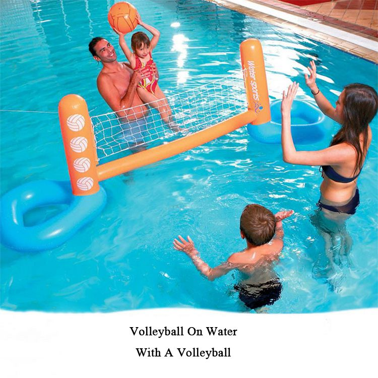 Outdoor Sports Inflatable Beach Toys For Swimming Pool Basketball Football Volleyball Bidderface Swimming Pool Toys Swimming Pool Floats Pool Volleyball Net