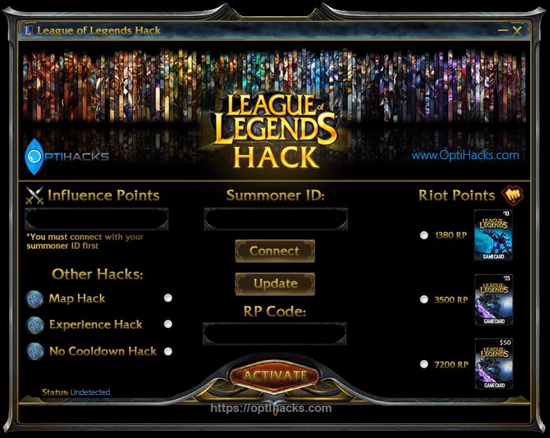 league of legends riot points hack