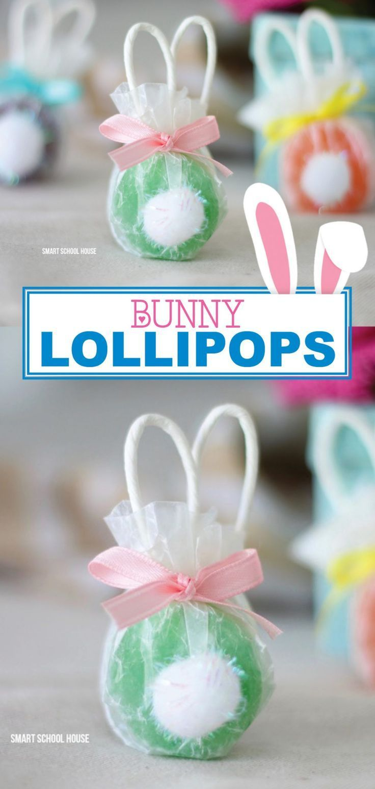 Bunny Lollipops are adorable for Easter Find out how to make these super simple lollipops that look like tiny Easter bunnies Its the perfect treat for your Easter celebra...