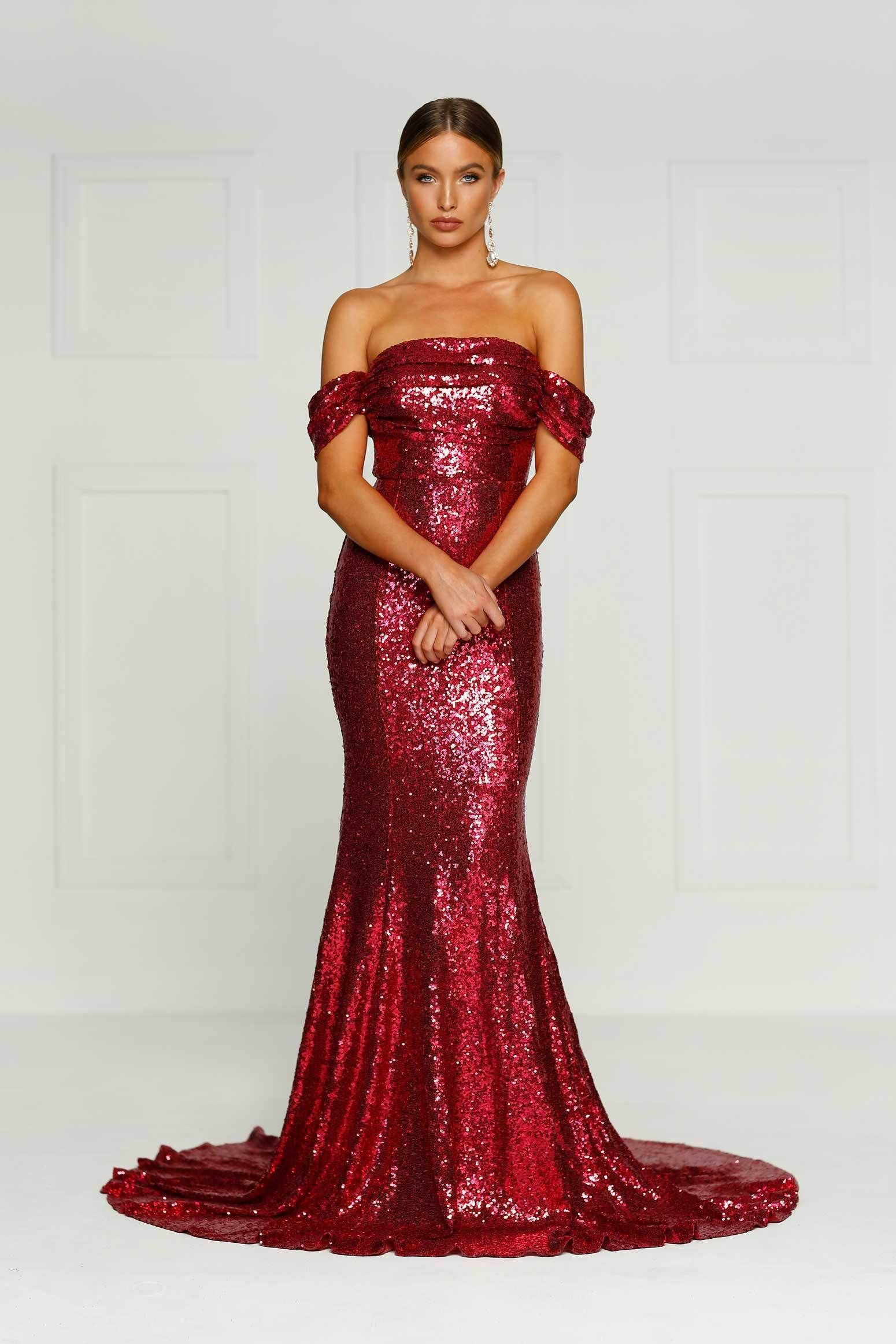 Alamourthelabel Silicya Wine Red Sophie Applegarth Product Page Https Www Alamourthelabel Com Collections Long Sparkly Dresses Red Sparkly Dress Dresses [ 2325 x 1550 Pixel ]