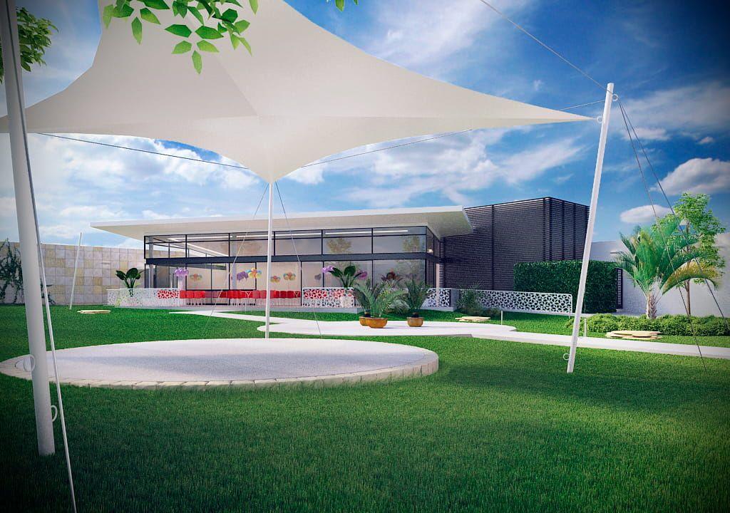 Render Salon De Fiestas Soy Arquitectura Salones De Fiestas Salon De Eventos Jardin De Eventos