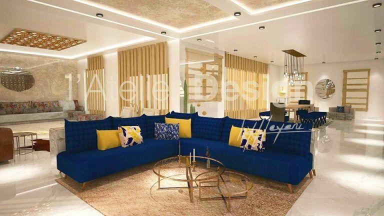 Atelier Design By Hayani | Deco salon marocain, Salon ...
