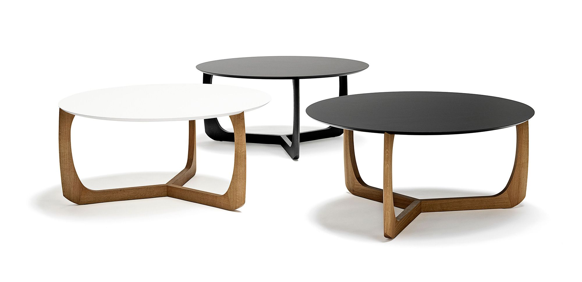 Table Basse Ronde Salon Petites Tables Basses Gigognes Maison