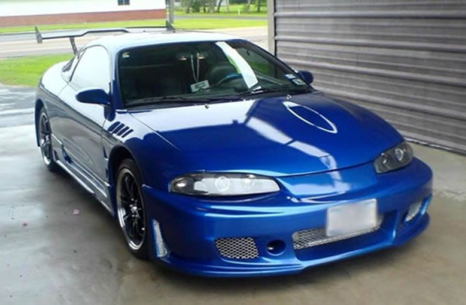 What I Want My 92 Mitsubishi Eclipse Project Car To Look Like