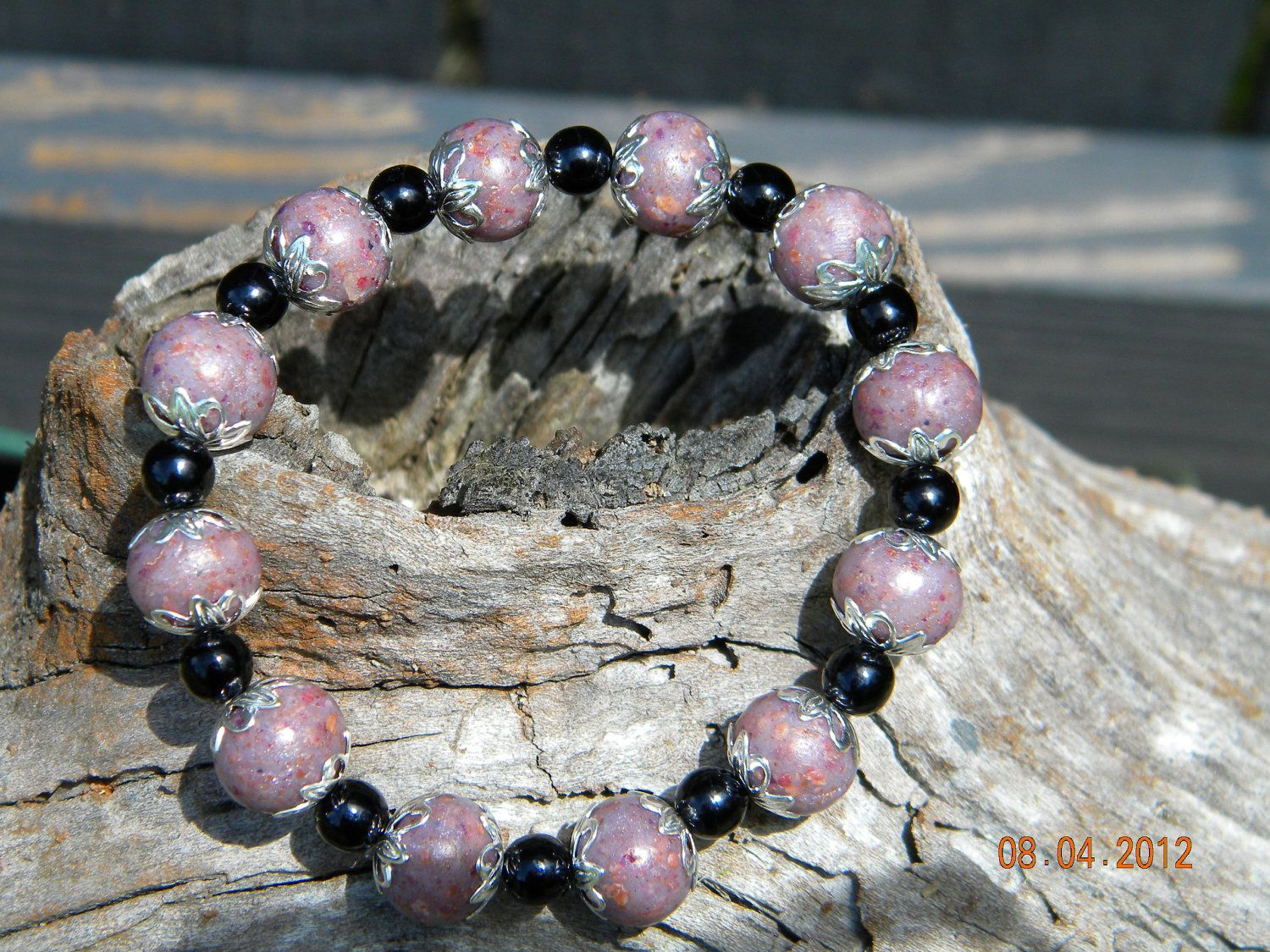 Memorial Bracelets Chronicle Style N Made W Flowers From A
