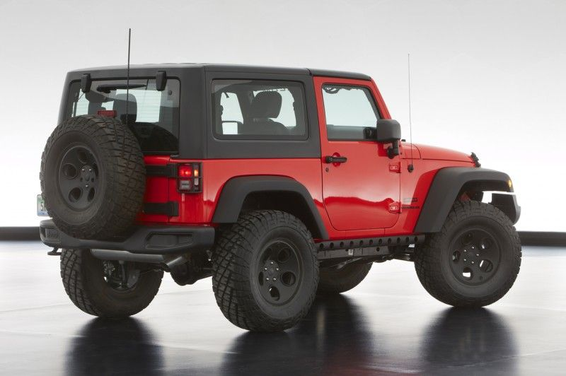 Jeep Easter Safari 2013 Concepts Revealed New Jeep Wrangler