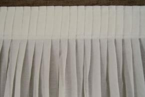 Knife Pleated Curtains Heading Tape Window Treatments