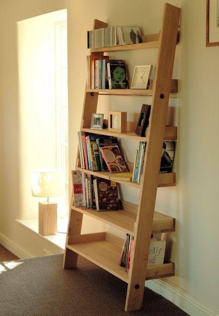 Image Result For Ladder Bookshelf Tv Stand