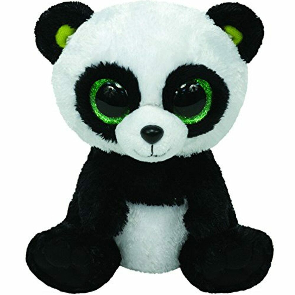 Details About Ty Beanie Boos Bamboo Panda Small Stuffed Animal Em