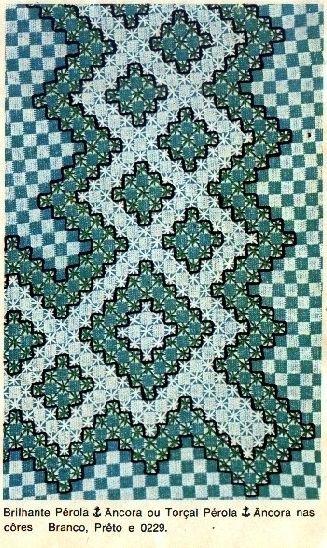Blog de caminho-das-linhas :Caminho das Linhas, Toalha xadrez - motivo 2