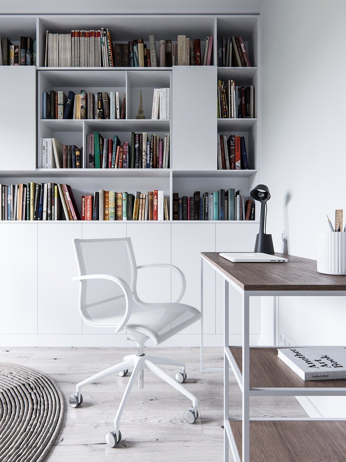 homedesigning: A Pair Of Stylish Apartments That ...