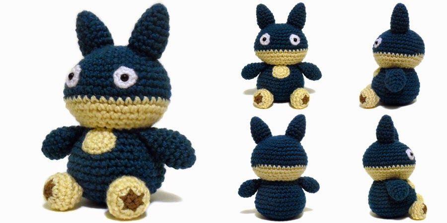 i crochet things: Free Pattern Friday: Munchlax Amigurumi | pokemon ...