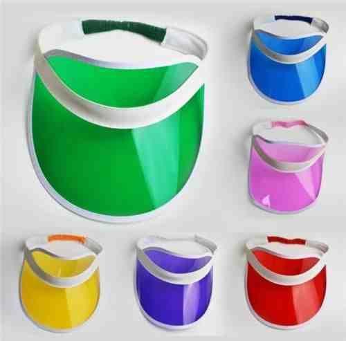 8af479ac Pack of 12 #unisex sun visor poker hat golf neon pub stag 80s #dance #tennis  cap…