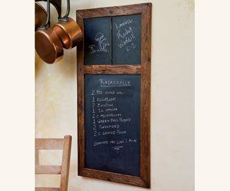 European Wood Chalkboards