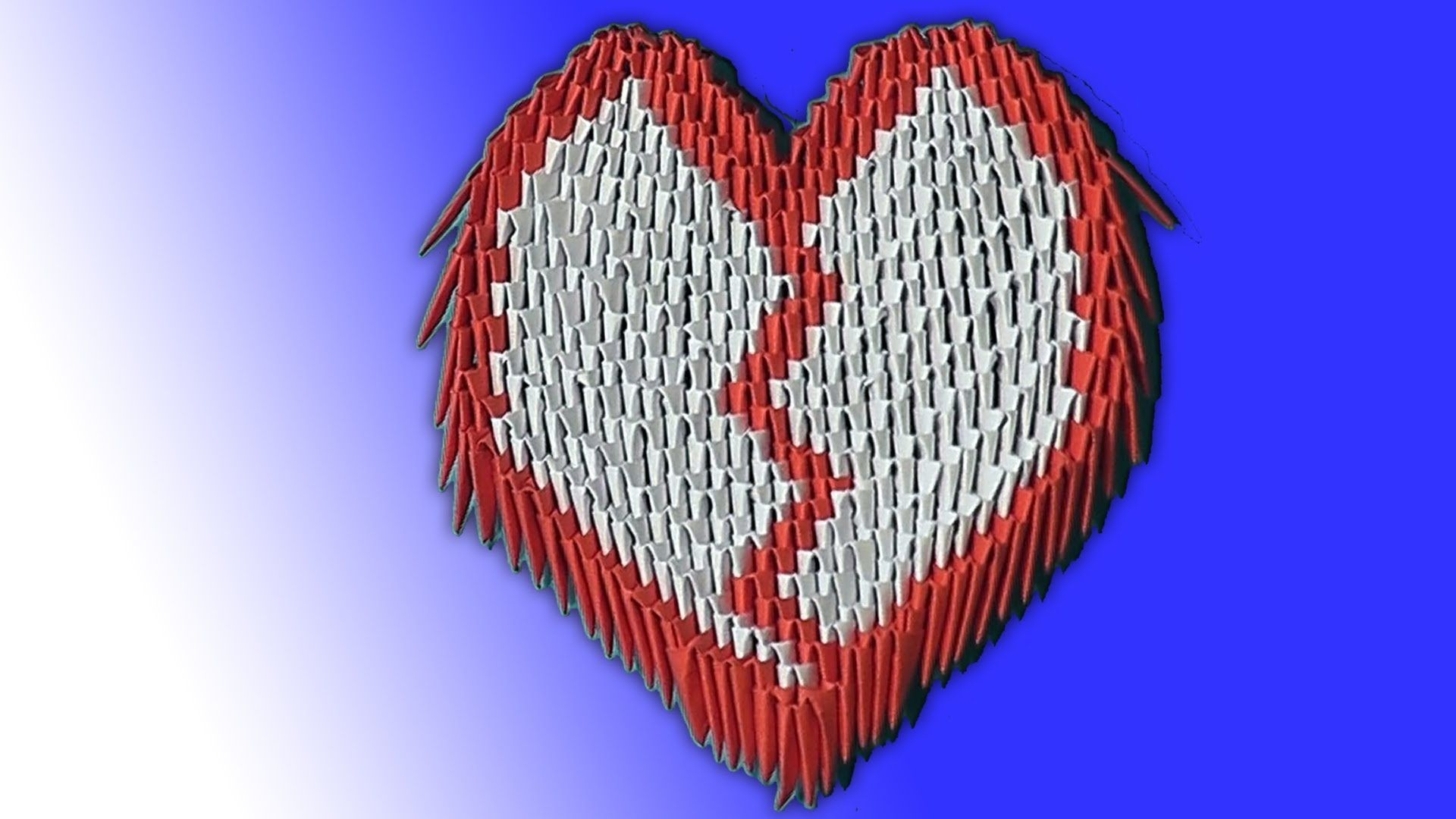How to make the heart valentine 3d origami modular origami for how to make the heart valentine 3d origami modular origami for beginners jeuxipadfo Image collections