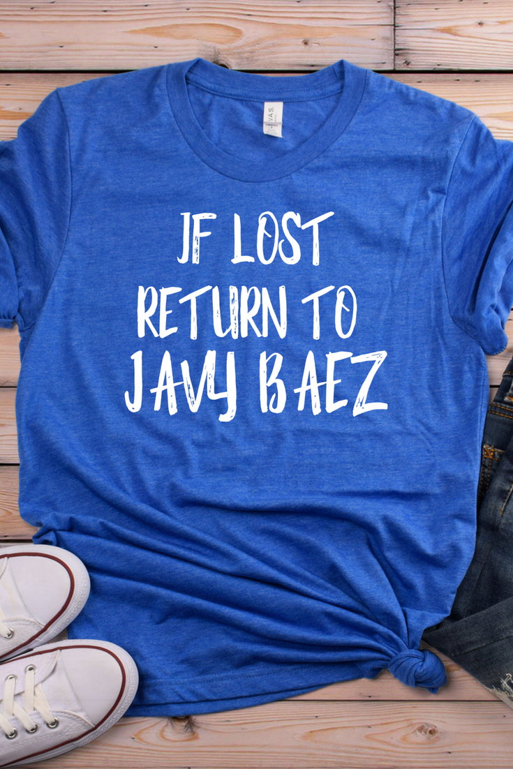 the latest 5a367 fdd76 Javy Baez, El Mago, #9, is on fire!! If lost, return to Javy ...