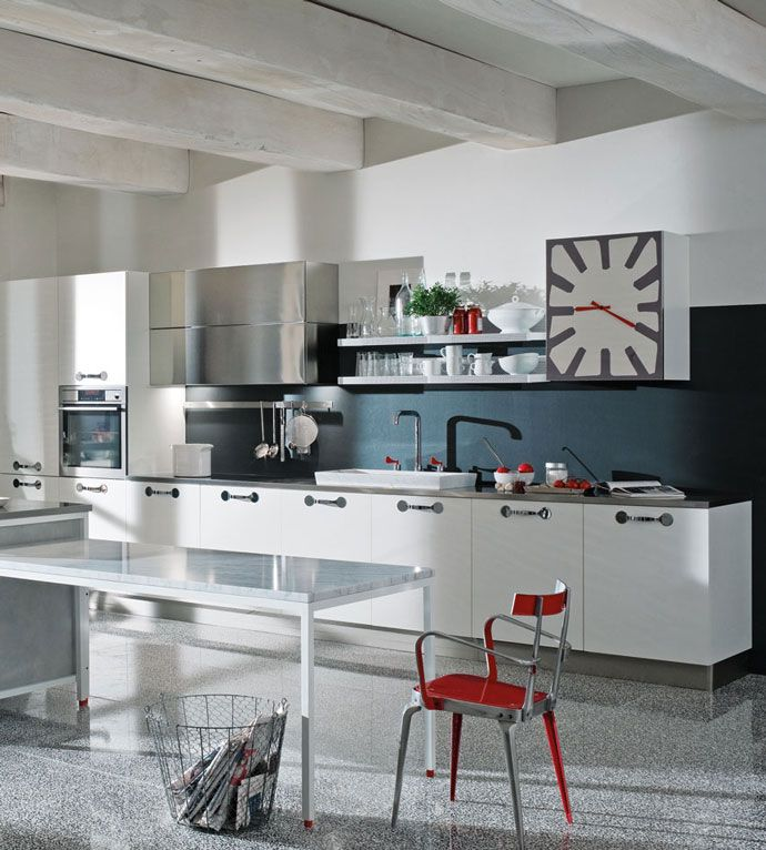 Create A Kitchen That S Cool Calm And Functional: A Kitchen Where Everything Is Straightforward, Immediate
