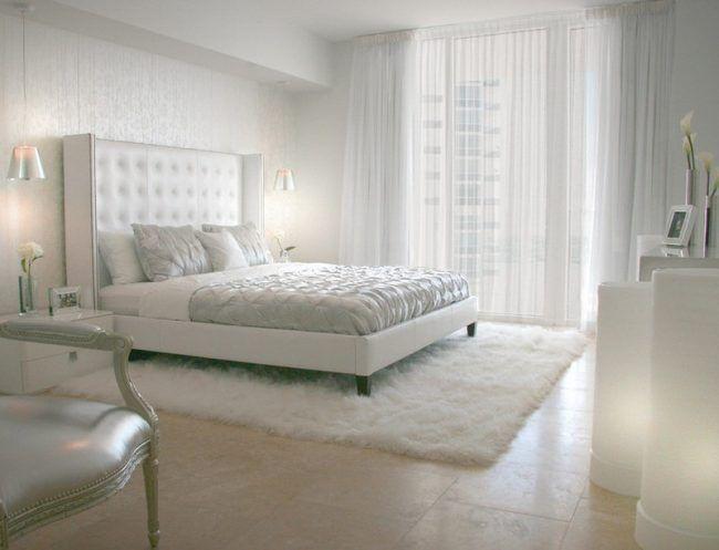 Schlafzimmer Ideen in Weiß - 75 moderne Einrichtungsbeispiele ...