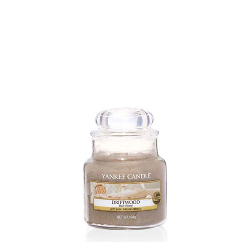 Return To The Crashing Coastline With This Yankee Candle Driftwood