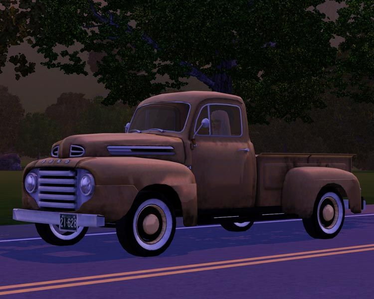 The Sims 3 1950 Ford F 1 Pick Up Truck By Fresh Prince Creations Manufacture Name Requires Base Price 2 500