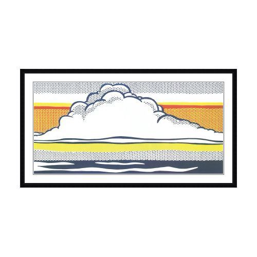 Cloud and Sea - Roy Lichtenstein