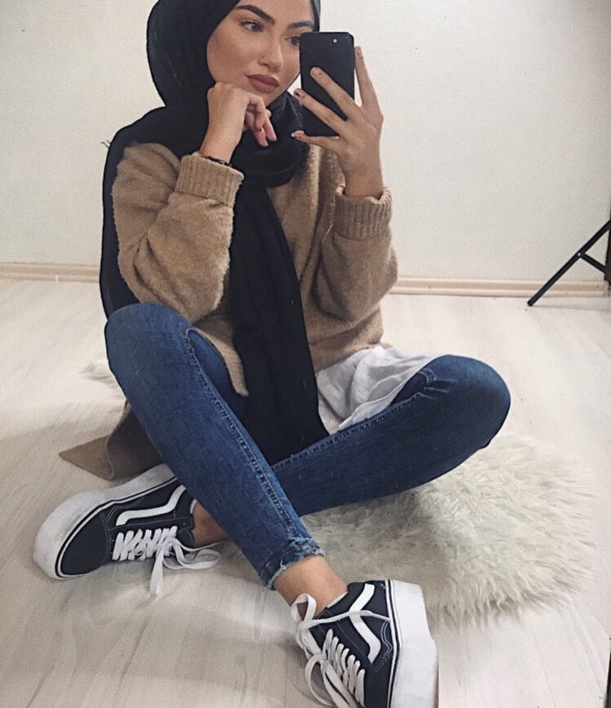 Pinterest Adarkurdish Casually Covered Pinterest Hijab Outfit Hijabs And Muslim Fashion