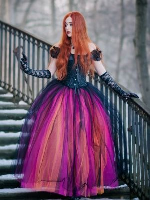 gothic corset long prom ball gown dress  ball gowns ball