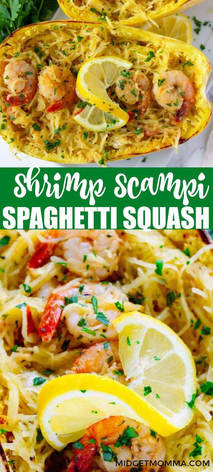 Shrimp Scampi Spaghetti Squash Recipe