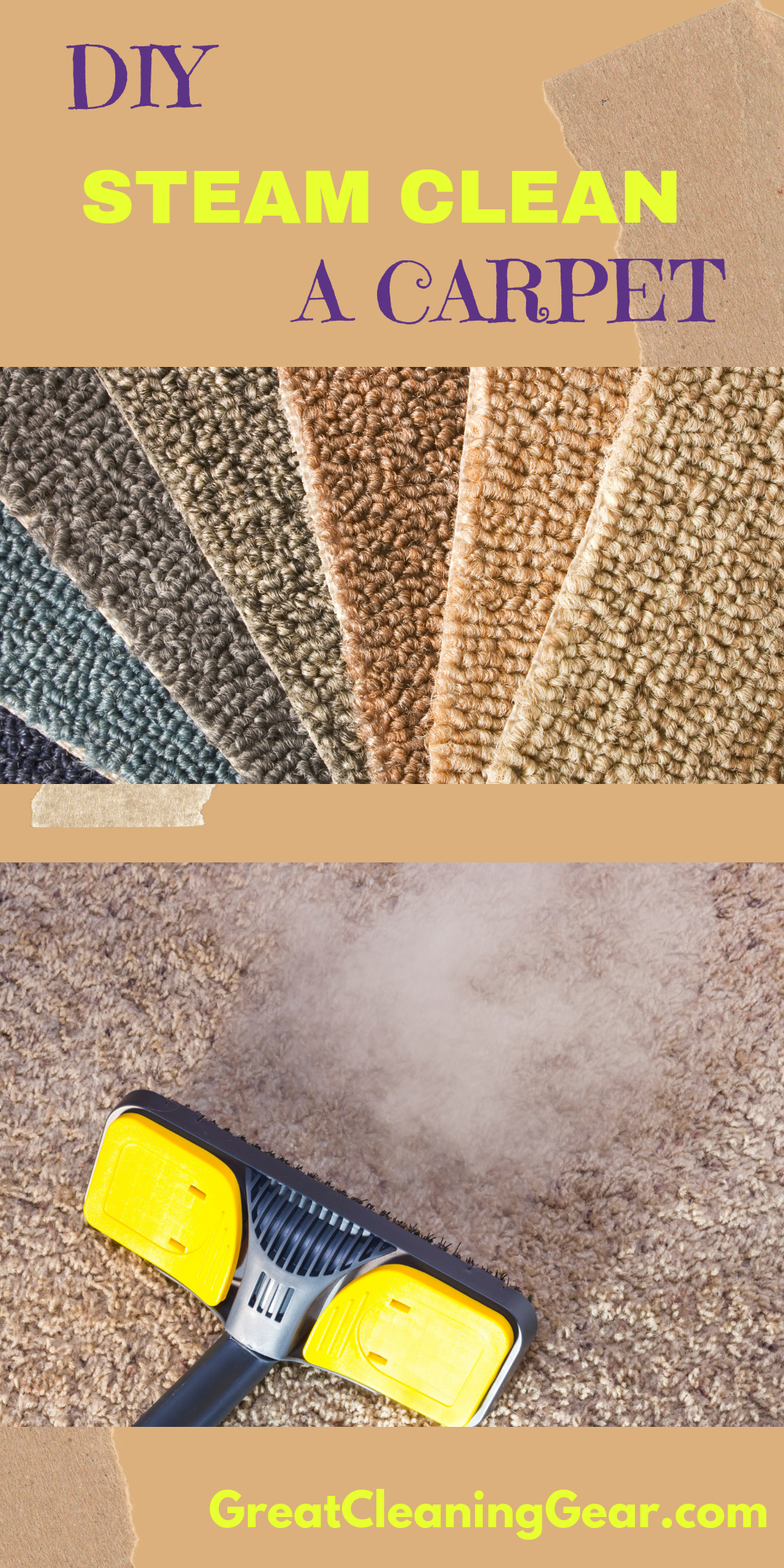 How To Use A Steam Cleaner On Carpet Clean
